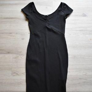 Zara lbd with sweetheart neckline